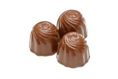 Pralines de chocolat Photographie stock