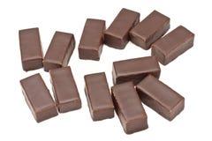 Pralines de chocolat photos stock
