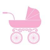 Pram - детская дорожная коляска Стоковая Фотография RF