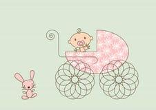 pram младенца Стоковые Изображения