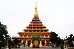 Pramahatat kaen le temple de nakron, Mueang Khon Kaen, Thaïlande Photos stock