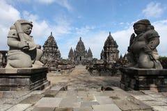 prambanan寺庙 库存图片