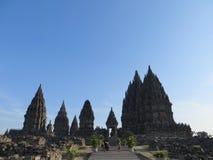 Prambanan świątyni mieszanki w Yogyakarta fotografia stock