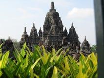 PRAMBANAN świątyni kompleks Zdjęcia Royalty Free