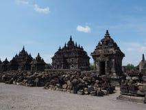 prambanan świątynia Obrazy Stock