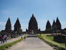 prambanan świątynia Obrazy Royalty Free