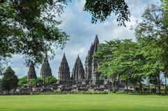 Prambanan świątynia na Jawa zdjęcia stock