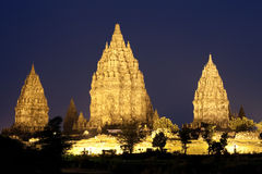prambanan świątynie Obraz Royalty Free