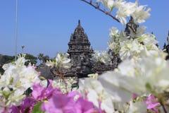 Prambanan, θαυμάσιος προορισμός ταξιδιού ναών Στοκ εικόνα με δικαίωμα ελεύθερης χρήσης