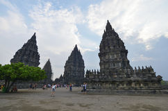 Prambanan, Ιάβα, Ινδονησία Στοκ φωτογραφία με δικαίωμα ελεύθερης χρήσης