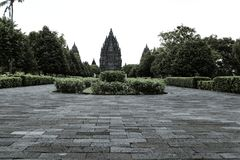 prambanan ναός της Ινδονησίας στοκ φωτογραφίες με δικαίωμα ελεύθερης χρήσης
