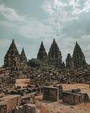 prambanan ναός στοκ φωτογραφίες