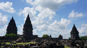 prambanan ναός Στοκ εικόνα με δικαίωμα ελεύθερης χρήσης
