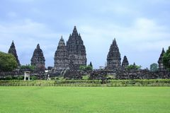 Prambanan Royalty Free Stock Photos