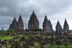 Prambanan immagini stock libere da diritti
