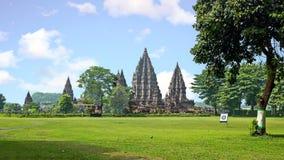 Prambanan or Candi Rara Jonggrang is a Hindu temple compound in Royalty Free Stock Photo