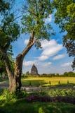 Prambanan or Candi Rara Jonggrang is a Hindu temple compound in Java, Indonesia, dedicated to the Trimurti: the Creator Brahma, Stock Image