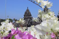 Prambanan, destination merveilleuse de voyage de temple Image libre de droits