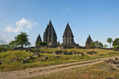 Prambanan hindu  temple Stock Photography
