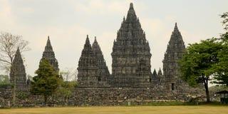Prambanan Hindu temple, Indonesia. The Prambanan Hindu temple built in 850 is near Yogyakarta in Indonesia Royalty Free Stock Images