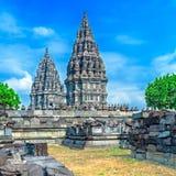 Prambanan Hindu Temple, Java Stock Image