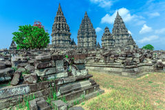 Prambanan Hindu Temple, Java Stock Photo