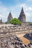 Prambanan Hindu Temple, Yogyakarta, Java Royalty Free Stock Image