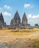 Prambanan Hindu Temple, Yogyakarta, Java Royalty Free Stock Photo