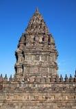 Prambanan. Indonesië, Java, Yogyakarta Stock Afbeelding