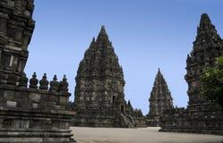 prambanan Indonesia świątynie Java Yogyakarta Obrazy Stock