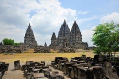 Prambanan, isola di Java, Indonesia immagini stock