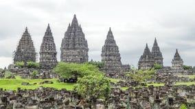 Prambanan in Java immagine stock