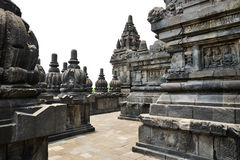 Prambanan, Java island, Indonesia Royalty Free Stock Photo