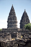 Prambanan site Royalty Free Stock Photo