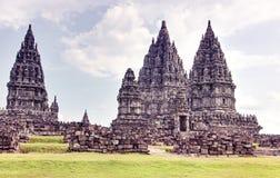 Prambanan-Tempel Stockfotos
