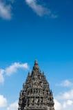 prambanan tempel royaltyfri bild