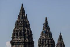 prambanan tempel Royaltyfria Foton