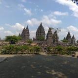 Prambanan tempel, Indonesien royaltyfria foton