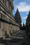 Prambanan-Tempel nahe Yogyakarta Lizenzfreies Stockfoto