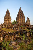 Prambanan Tempel in Indonesien Lizenzfreie Stockfotos