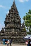 Prambanan-Tempel oder Tempel Ro-Ro Jonggrang in Indonesien lizenzfreie stockfotografie