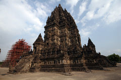 Prambanan Temple. Near jogyakarta on the island of Java, Indonesia Royalty Free Stock Photography