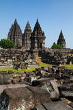 Prambanan Temple. The largest Hindu temple in the world Royalty Free Stock Photos
