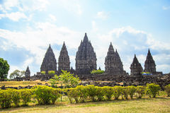 Prambanan Temple Royalty Free Stock Photo