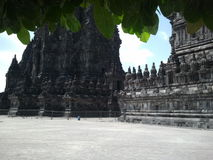 Prambanan Temple Ancient Stock Images