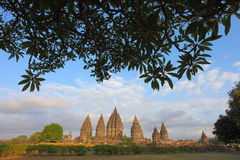 Prambanan Temple Complex Royalty Free Stock Photography