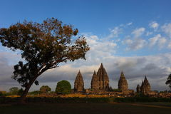 Prambanan Temple Complex Stock Photography