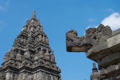 Prambanan Temple Compounds Stock Photo