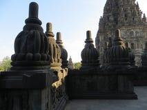 Prambanan Temple Compounds in Yogyakarta. Yogyakarta, Indonesia - October 31, 2018: Relief sculptures on the wall of Prambanan Temple stock image