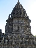 Prambanan Temple Compounds in Yogyakarta. Yogyakarta, Indonesia - October 31, 2018: Relief sculptures on the wall of Prambanan Temple stock images